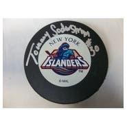 Signed Soderstrom Tommy New York Islanders New York Islanders Hockey Puck autographed