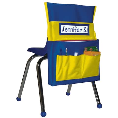 Chairback Buddy Blue/Yellow