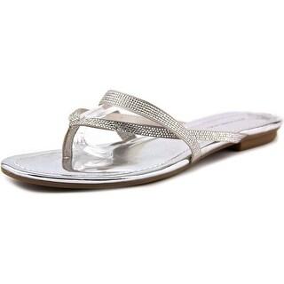 Bandolino Rufina Open Toe Canvas Thong Sandal