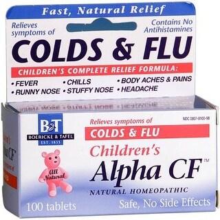 Boericke & Tafel Child Alpha Cold & Flu (100 Tablets)