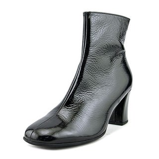 Gabor 71.710   Square Toe Patent Leather  Ankle Boot