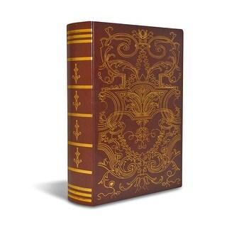 Bellagio-Italia Olde World Imperial DVD, CD Book Box Holds 48 discs