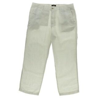 Nautica Mens Linen Blend Classic Fit Casual Pants