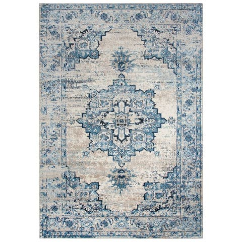 Rizzy Home Encore Collection Medallion Rug