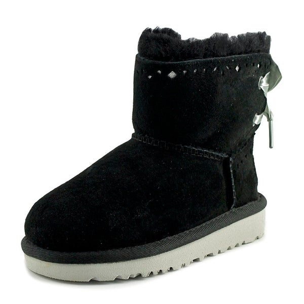 a9239719367 Shop Ugg Australia Dixi Flora Youth Round Toe Suede Winter Boot ...