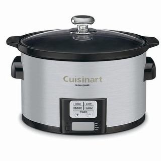 Cuisinart PSC-350 3-1/2-Quart Programmable Slow Cooker Automatic ...