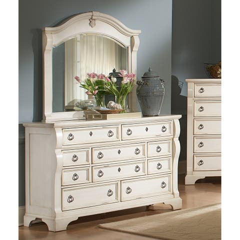 Traditions 10-drawer Dresser and Mirror Set by Greyson Living