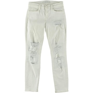 J Brand Womens Capri Jeans Denim Destroyed