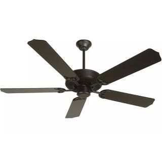 Buy black craftmade ceiling fans online at overstock our best craftmade k10389 contractors design 52 5 blade energy star ceiling fan blades included aloadofball