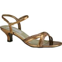 Touch Ups Women's Melanie Sandal Bronze Metallic