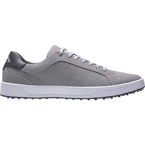 Callaway Men's Del Mar Waterproof Golf Shoe Grey Microfiber Leather