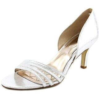 Alfani Giorjah 2   Open-Toe Canvas  Heels