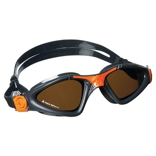 Aqua Sphere Kayenne Polarized Lens Swim Goggles - Gray/Orange