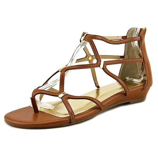 Thalia Sodi Pamella Women Cognac Sandals