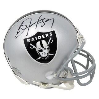 Bo Jackson Oakland Raiders Riddell Mini Helmet Beckett