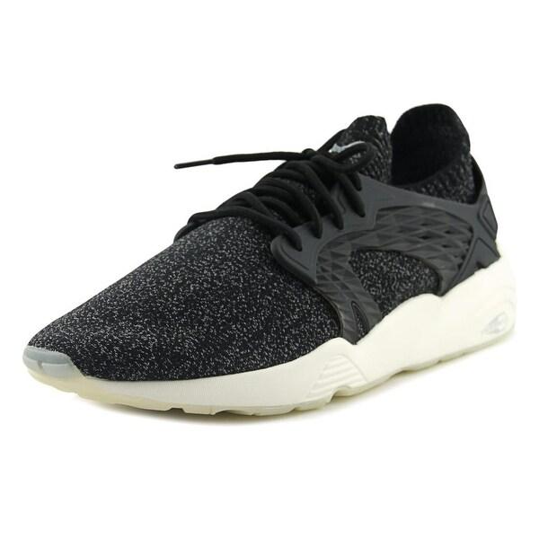 Puma Blaze Cage EvoKnit Men Synthetic Black Fashion Sneakers