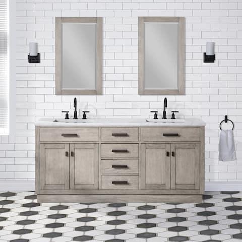 "Chestnut 72"" Double Bathroom Vanity Vanity Only"