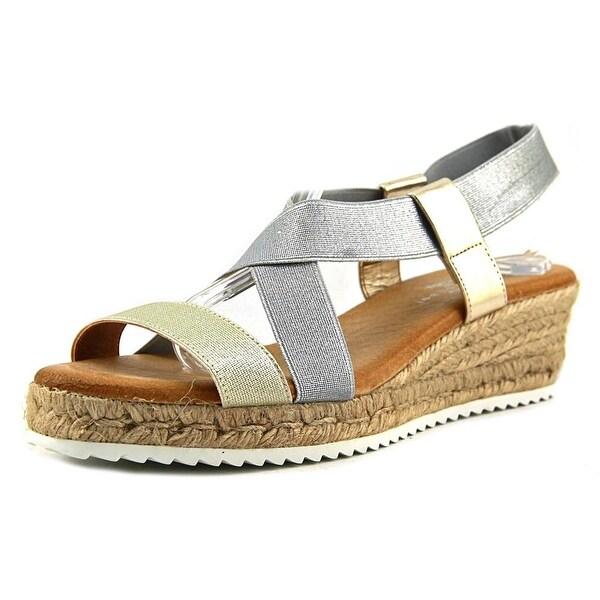 Eric Michael Sarah Women Gold/Silver Sandals
