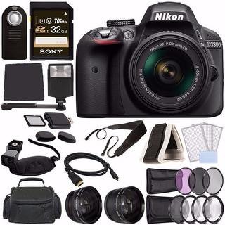 Nikon D3300 Digital DSLR 18-55 VR AF-P Bundle 1