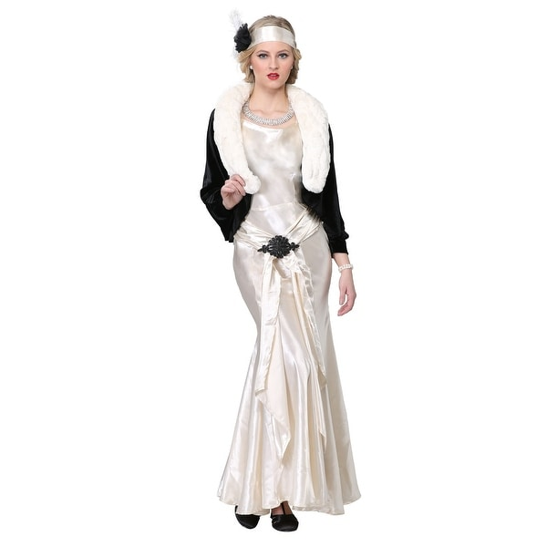 Shop 1920s Socialite Plus Size Womens Costume - Free Shipping Today ...