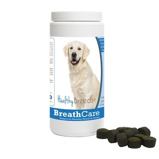 Healthy Breeds Dog Breath Care Chews for Golden Retriever