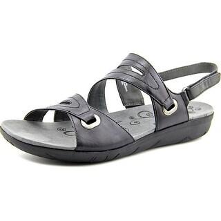 Baretraps Jevin Open-Toe Leather Slingback Sandal
