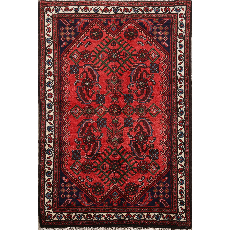 Geometric Lilian Persian Kitchen Size Area Rug Handmade Wool Carpet 3 0 X 4 6 Overstock 31671723