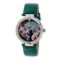 Bertha Camilla Women's Quartz Watch, Genuine Leather Band, Luminous Hands