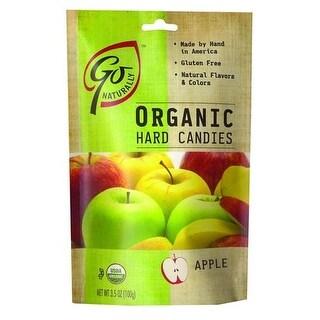 Go Organic - Apple Hard Candy ( 6 - 3.5 OZ)