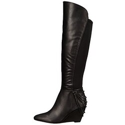 Fergie Women's Samantha Knee High Wedge Boots
