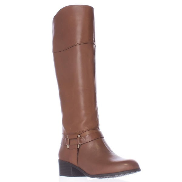 A35 Biliee Casual Riding Boots, Cognac