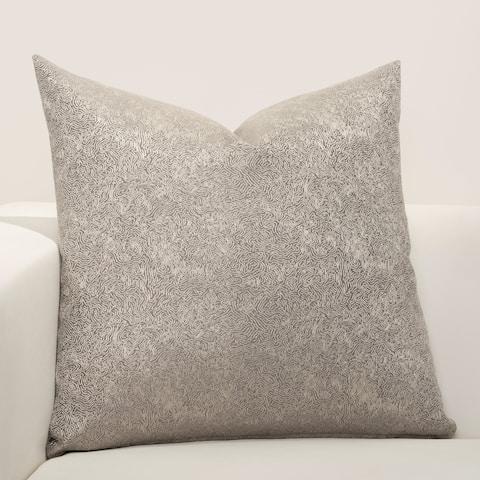 F Scott Fitzgerald Jazz Club Silver Accent Throw Pillow