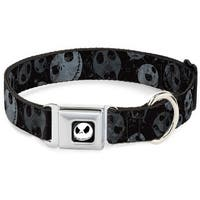 Dog Collar DYAF-Jack Expression3 Full Color - Nightmare Before Christmas Pet Collar