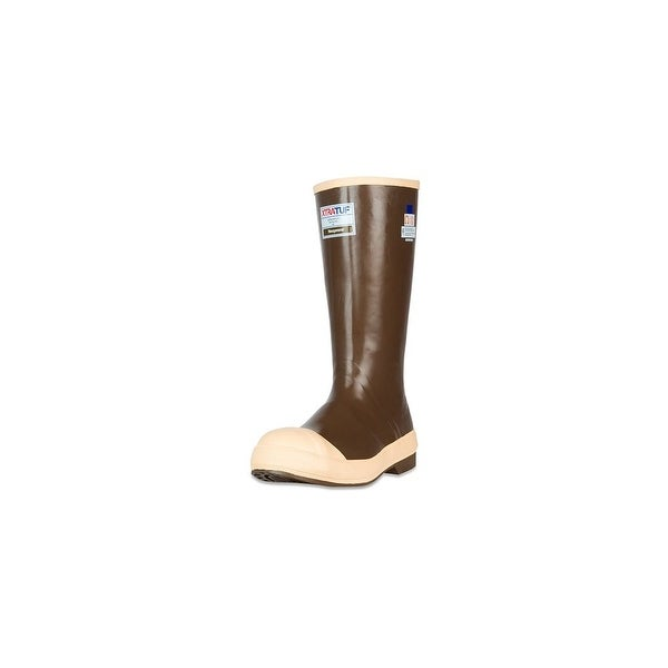 "Xtratuf Mens Legacy 15"" Steel Toe Fishing Boots w/ Chevron Outsole - Size 7"