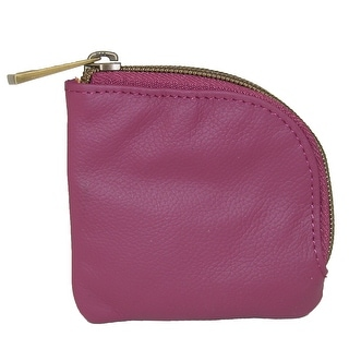 Travelon Women's Leather RFID Blocking Coin and Card Pouch Wallet - One size