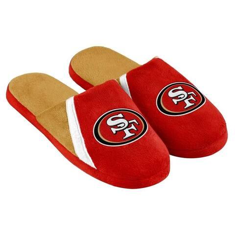 San Francisco 49ers NFL Swoop Logo Slide Slippers - Red