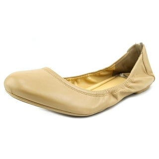 Cole Haan Manhattan Ballet Women Round Toe Leather Ballet Flats