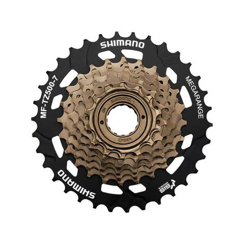 Shimano MF-TZ500 Tourney Bicycle Mega-range Multi Freewheel 7 Speed 14-28T