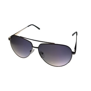Kenneth Cole Reaction Mens Sunglass Gold Silver Metal Aviator, KC1247 11B - Medium