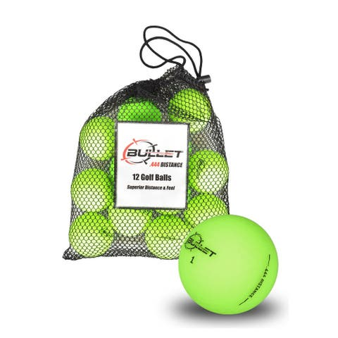 Bullet Golf Balls - Green Dozen