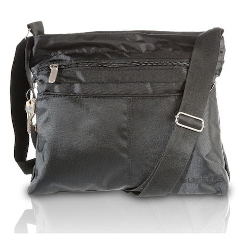 Suvelle Classic Travel Crossbody Bag, Everyday Shoulder Organizer Purse # 1905