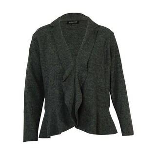 Jones New York Women's Open Front Wool Jacket