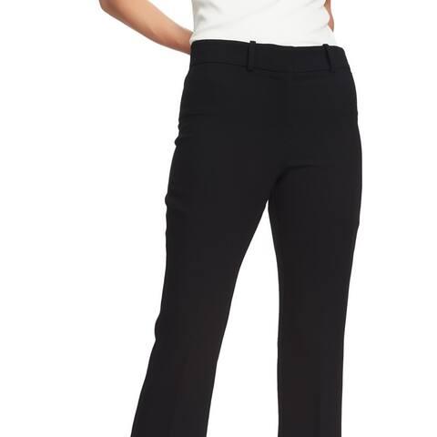 1 State Mini Kick Flare Crop Pants Rich Black