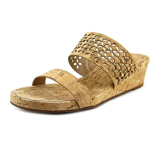 Vaneli Keena Women Natural Sandals