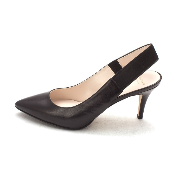 Cole Haan Womens Vaniasam Pointed Toe SlingBack Classic Pumps - 6