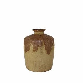 Ceramic Vase, Beige