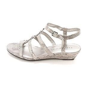 Karen Scott Womens Jordeyy Open Toe Casual Ankle Strap Sandals
