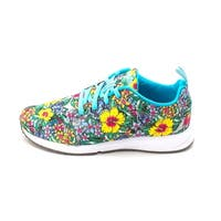 PUMA Womens CARSON RUNNER JR. Fabric Low Top Lace Up - 3 junior girls