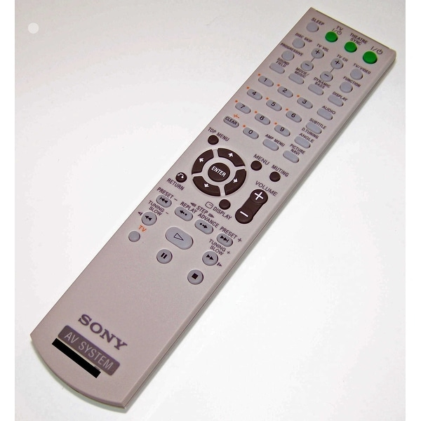 OEM NEW Sony Remote Control Originally Shipped With SSWS52, SS-WS52