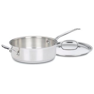 Cuisinart 733-30H Chef's Classic Saute Pan With Helper Handle & Cover